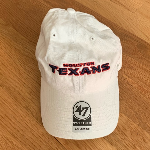 finest selection 2fddc 00e1e  47 Brand Houston Texans Word mark Clean Up Hat